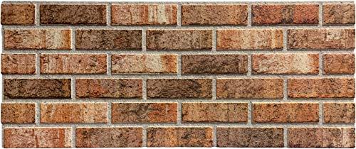 Steinoptik Wandverkleidung für Wohnzimmer, Küche, Terrasse oder Schlafzimmer in Klinkeroptik Look. (ST 353-114)