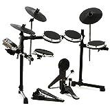 Behringer XD80USB Premium 8-Piece Electronic Drum Set (Silver)