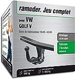 Rameder Attelage démontable avec Outil pour VW Golf V + Faisceau 7 Broches (128597-04991-3-FR)