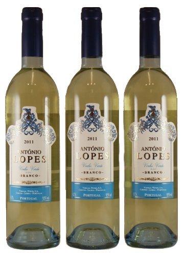 Vinho Verde Antonio Lopez DOC Weiß 3er Pack