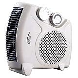 Adler Radiateur soufflant électrique AD77, Chauffage d'appoint, 2 niveaux de chauffage 1000W / 2000W