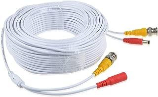 ABLEGRID White 150ft BNC Extension Cable Cord for Night Owl CAM-HDA10W-DMA CAM-HDA10W-BU