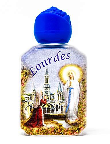 Weihwasser aus Lourdes von Catholic Gift Shop Ltd, Flasche gefüllt mit geweihtem Wasser aus Lourdes