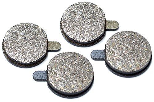 2 Paar Bremsbeläge Scheibenbremsbeläge für ZOOM / Alhonga Brake Pads Paar DB280 Durchmesser 18mm