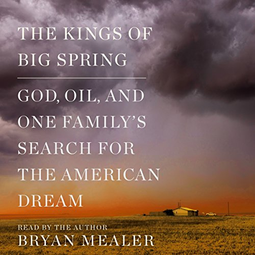 The Kings of Big Spring audiobook cover art