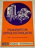 Transistor Vergleichsliste, Teil 1: Germaniumtransistoren