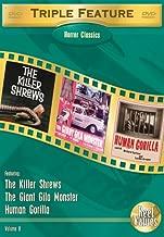 Horror Classics Triple Feature - Volume 8: (Killer Shrews / The Giant Gila Monster / Human Gorilla)