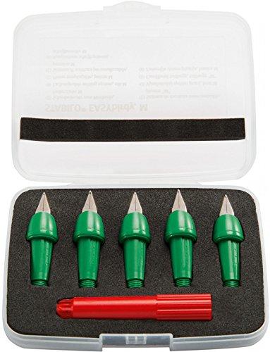 Füllfederhalter STABILO EASYbirdy, 5 Stück + 1 Einstellschlüssel (grün)