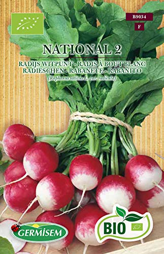 Germisem Orgánica National 2 Semillas de Rábano 5 g
