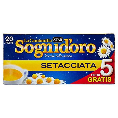 Sognid'oro Camomilla Setacciata 20 Filtri, 33.4g