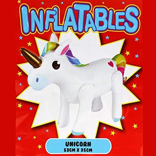 Aufblasbares Einhorn-Piñata, Kunststoff, zum Aufblasen, Einhorn, Spielzeug, Party-Dekoration, Requisite