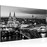 Runa Art Bild Köln Wandbild Vlies - Leinwand Bilder XXL