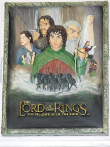 Lord of the Rings LOTR 3D The Fellowship of the Ring Poster Art Figure Limited Edition