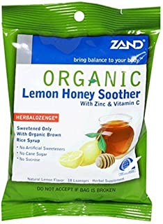 Zand HerbaLozenge Organic Honey Lemon