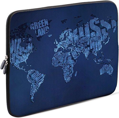 Sidorenko Laptop Tasche für 13 - 13.3 Zoll kompatibel für Macbook Pro / Macbook Air / Lenovo - Universal Notebooktasche Schutzhülle - Laptoptasche aus Neopren, PC Computer Ultrabook Hülle Sleeve Hülle Etui, Blau
