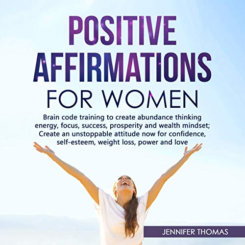 Positive Affirmations for Women cover art