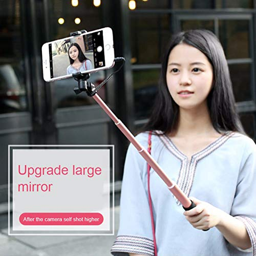 LSDRHTJ Selfie Stick Plegable Monopod con Cable Extensible para iPhone X 8...