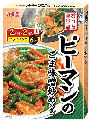 丸美屋食品工業 おうち食堂 ピーマンの味噌炒め 140g ×10個