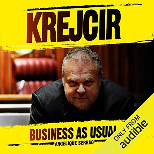 Krejcir audiobook cover art
