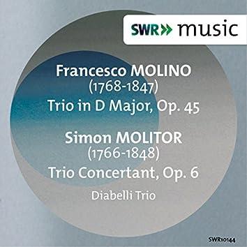 Molino: Trio in D Major, Op. 45 - Molitor: Trio Concertant, Op. 6