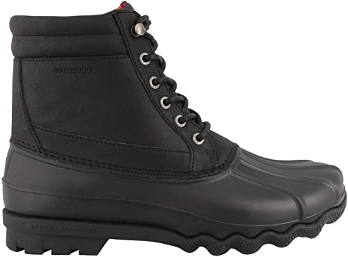 Sperry Top-Sider Men& 039;s Brewster Rain Stiefel, schwarz, 10.5 Medium US