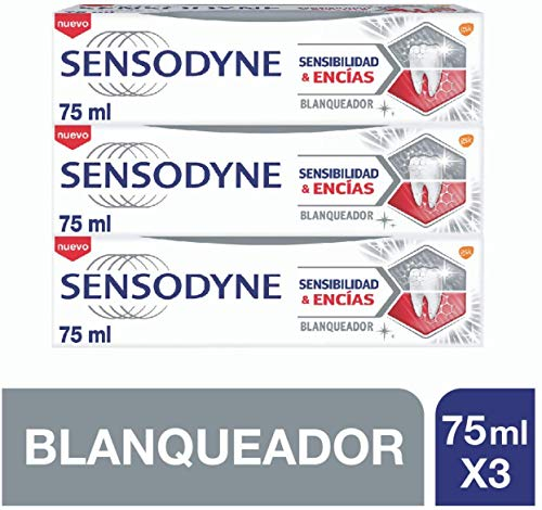 Sensodyne Pasta de Dientes, 75 ml, Pack...