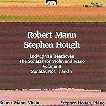 Beethoven: The Sonatas for Violin and Piano, Volume 2
