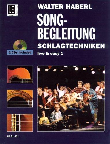 Schlagtechniken 1 - Songbegleitung mit CD, für Gitarre