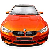 FORTEM Car Windshield Sunshade, Keeps Out UV Rays, Protects Vehicle...