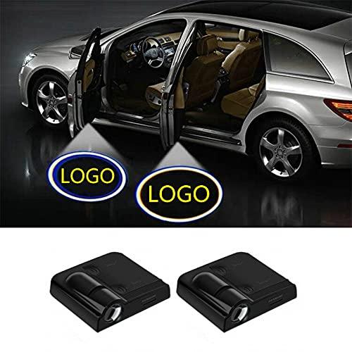 xy para Luces de Bienvenida de la Puerta de automóviles para Hyundai I30 Tucson Creta IX35 Solaris Kona IX I40 Veloster Getz IONIQ Accent 2020 2021 2019 2018 2018 Compatible con