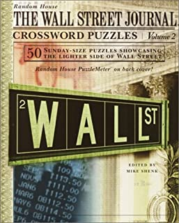 The Wall Street Journal Crossword Puzzles, Vol. 2