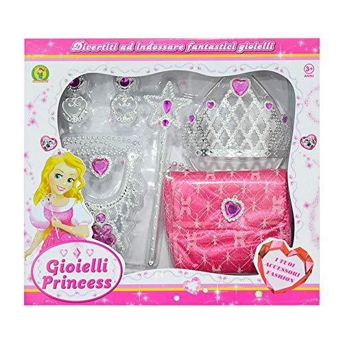 Mazzeo Giocattoli Set Gioielli Giocattolo - Gioielli Princess