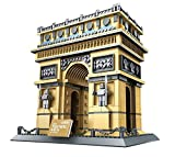 The Triumphal Arch of Paris Building Blocks 1401 pcs Set 8021