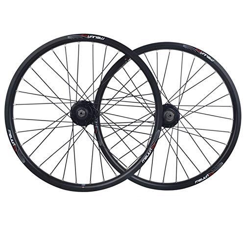 NS Plegable Bicicleta Juego Ruedas 20 Pulgadas 406 Aleación Aluminio Liberación Rápida...