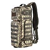 B Baosity XXL Rucksack Backpack Sporttasche Wasserdicht Wandern Camping Reise Outdoor, 51 x 21 x 19 cm - ACU Digital