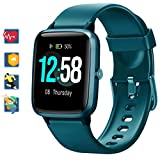 Blackview Smartwatch, Fitness Uhr Voller Touch Screen Fitness Tracker mit Pulsmesser, 5ATM...