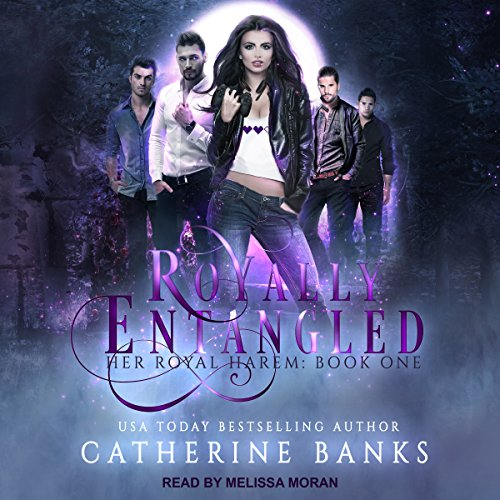 Royally Entangled: A Reverse Harem Fantasy audiobook cover art