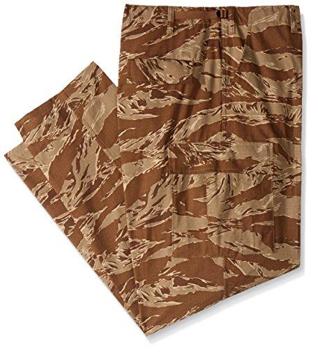 Tru-Spec Pantalon pour Homme Style Militaire Anti-déchirures, Homme, 1598007, Desert Tiger Stripe, XX-Large