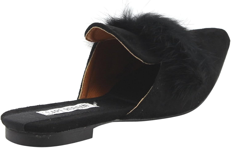 Cape Robbin Fine Furry Flat Black