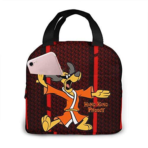 Hong Kong Phooey Ii portátil con aislamiento bolsa de almuerzo para mujeres hombres niños niñas con trabajo Picnic viaje