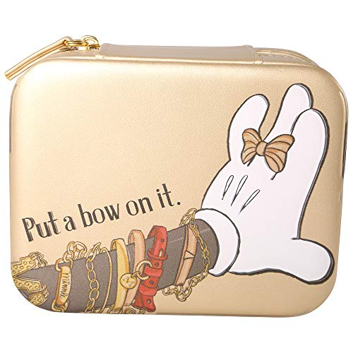 Disney Boîte à bijoux de voyage Minnie Mouse en simili cuir