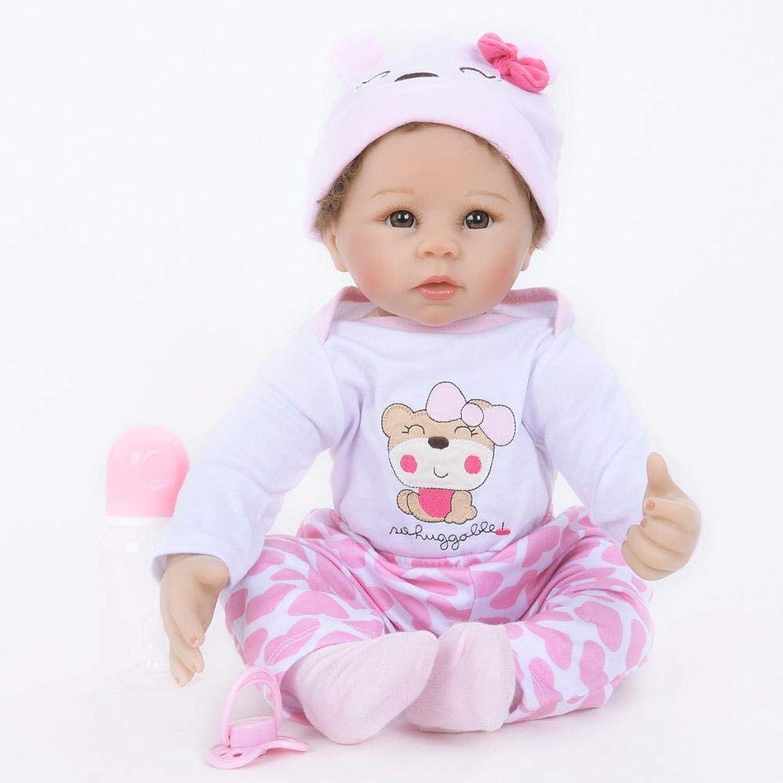 Hongge Reborn Baby Doll,Lebensechte Baby Reborn Puppe Haut wie Neugeborenes Baby Reborn Puppe Spielzeug Geschenk 55cm B07HF725BK Online-Verkauf    Spezielle Funktion