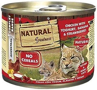 Natural Greatness Comida Húmeda para Gatos de Pollo con