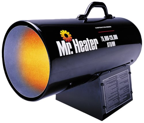 Mr. Heater MH125FAV 125,000-BTU Forced-Air Propane Heater