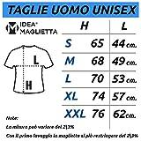 Zoom IMG-1 ideamaglietta no0001 t shirt uomo