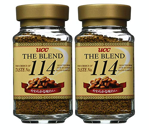 [Pack of 2] UCC Japan #1 Coffee, The Blend 114 Instant Coffee | 90 Gram