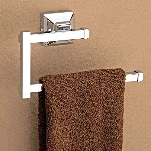 """Plantex Stainless Steel 304 Grade Squaro Napkin Ring/Towel Ring /Napkin Holder/Towel Hanger/Bathroom Accessories(Chrome) - Pack of 1 """