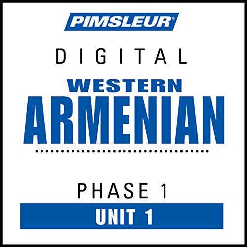 Armenian (West) Phase 1, Unit 01 audiobook cover art