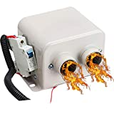 IXAER Car Heater Car Windshield Defogger Defroster 12V 800W Car Heater Kit, High Power 8 Second Fast Heating Defrost for Automobile Windscreen Winter