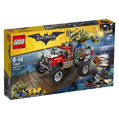 LEGO The Batman Movie 70907 - Killer Crocs Truck, Batman Spielzeug